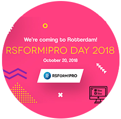 RSForm!Pro Day 2018