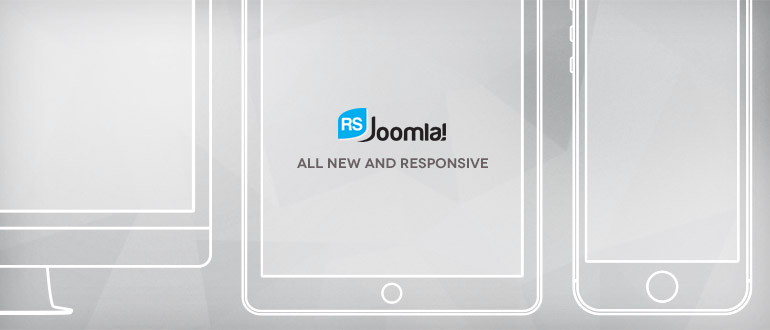 New RSJoomla! website