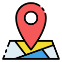 Locate events on the map