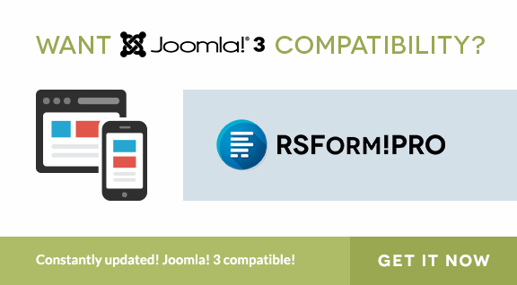 Get Joomla 3 Form Builder