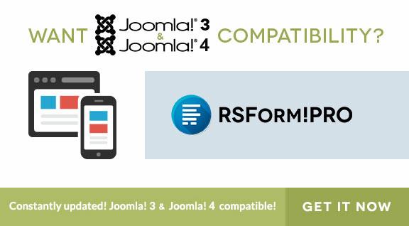 Get Joomla 3 Form Builder
