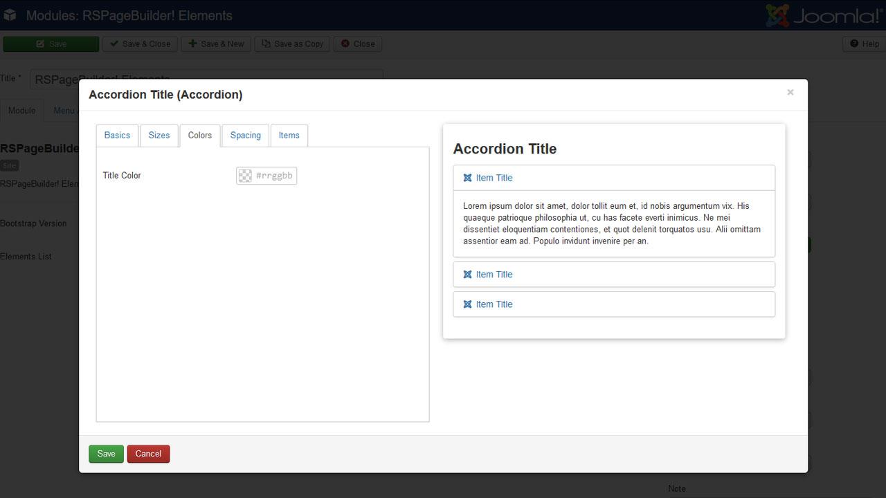 RSPageBuilder! Edit Module