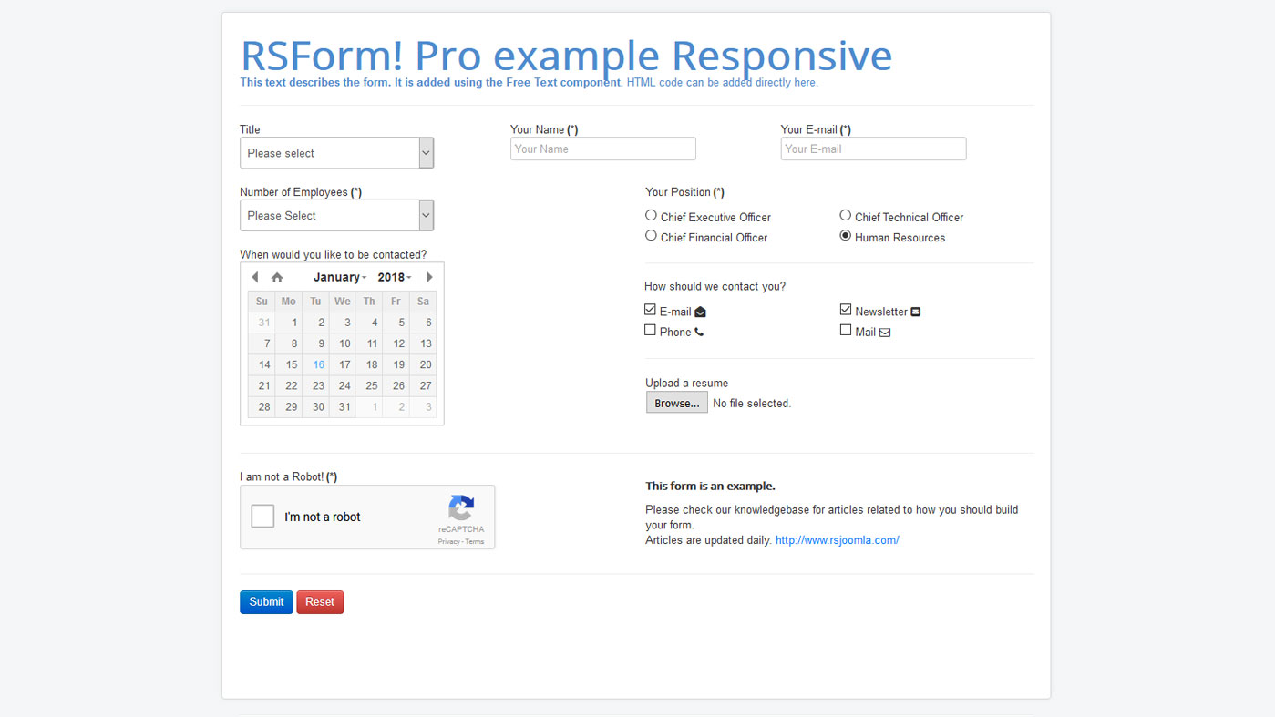 Frontend Responsive Layout