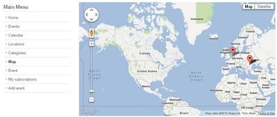 RSEvents!Pro map events menu item