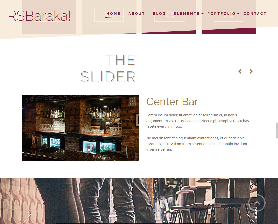 rsbaraka! - Screenshot Front End 6