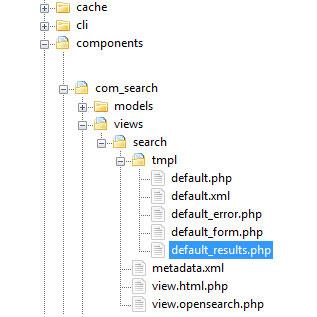 RSCora! - How to Joomla! Template override source