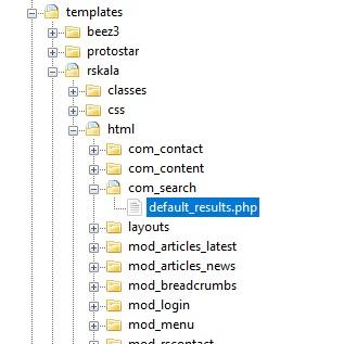 RSKala! - How to Joomla! Template override destination