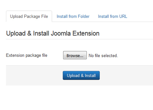 Installing RSLibro! 3.x Joomla! template Step 3