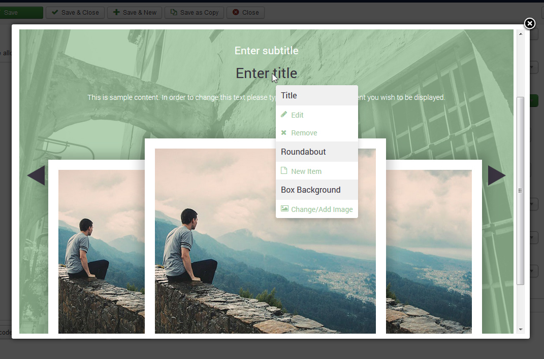 RSLibro! - Full Width Roundabout edit elements