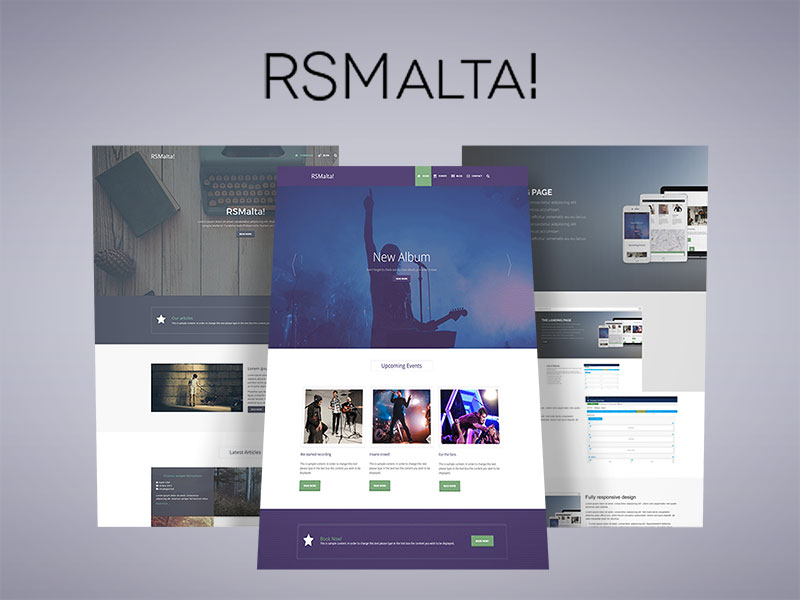RSMalta! Joomla! 3.x template designed for RSDirectory!