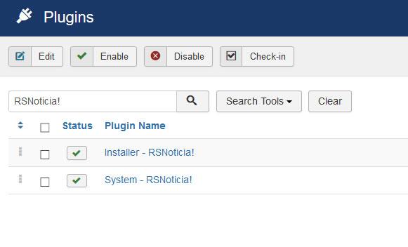 Go to Installer Plugin RSNoticia!