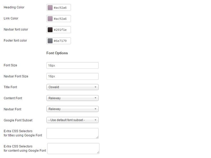 RSNoticia! Joomla! 3.x template Advanced Tab preview 2