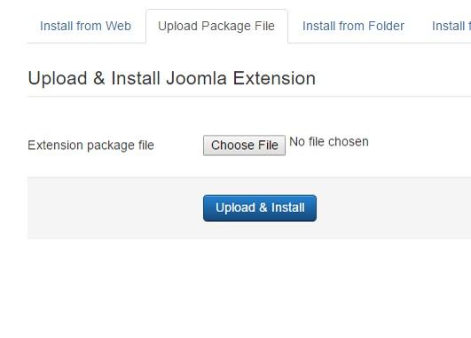Installing RSShanti! 3.x Joomla! template Step 3